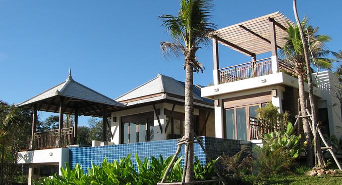 Khlong Nin 3 bedroom Pool Villa Exterior