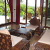 Klong Nin Pool Villa Pool Interior Lounge Area with floor to ceiling windows