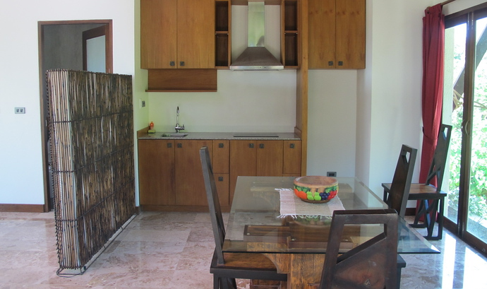 Klong Nin Pool Villa Open Planned Kitchen and Dining Area