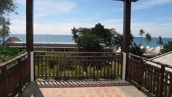 Khlong Nin Pool Villa Upstairs Balcony With Ocean View