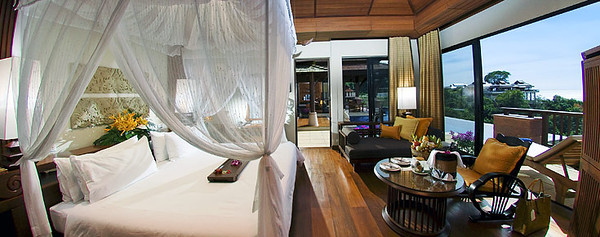 Pimalai One Bedroom Pool Villa Bedroom