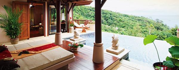 Pimalai One Bedroom Pool Villa Pool Area