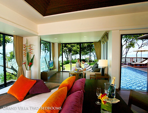 Crown Lanta Grand Villa Kawkwang Beach on Koh Lanta, Thailand