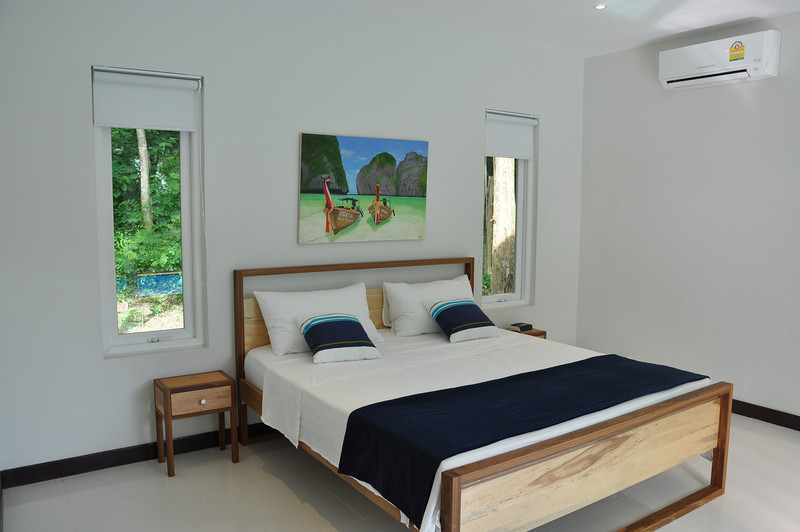 Koh Lanta Pool Villa Klong Khong Bedroom