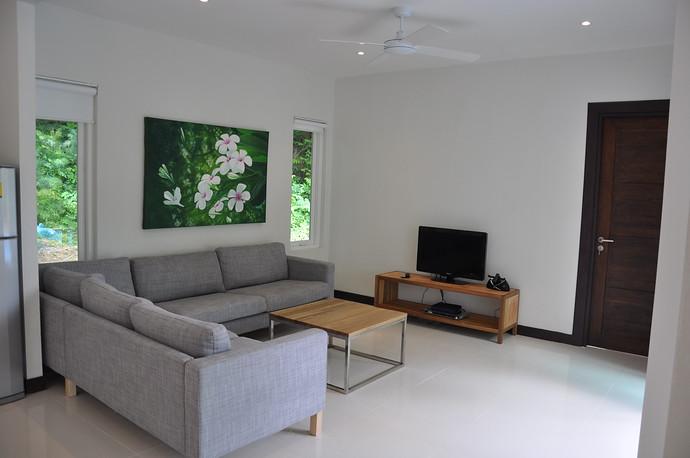 Koh Lanta Pool Villa Klong Khong Living Area