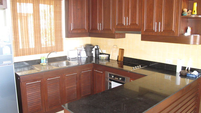 Lanta Beachfront Villa Fully Fitted Kitchen