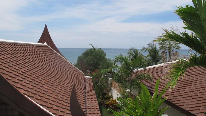 Lanta Beachfront Villa View From Private Balcony