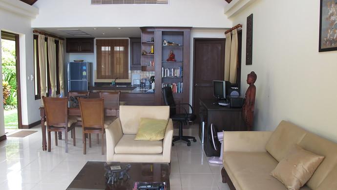 Lanta Beachfront Villa Living Room