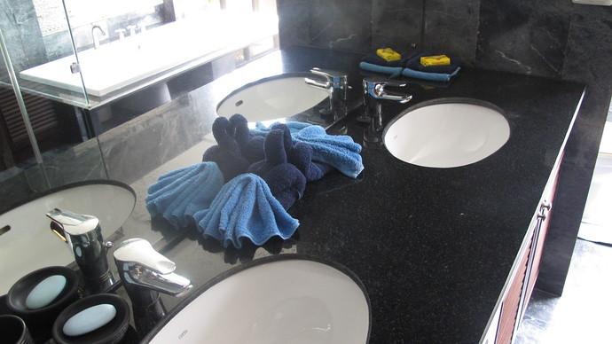 Double Wash Basins