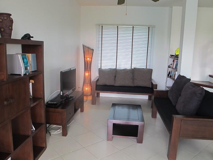 Lounge area in the Sea Life Villa