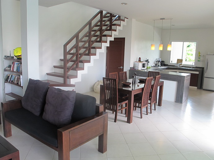 Sea Life Open Plan Living Room Dining Room and Kitchen