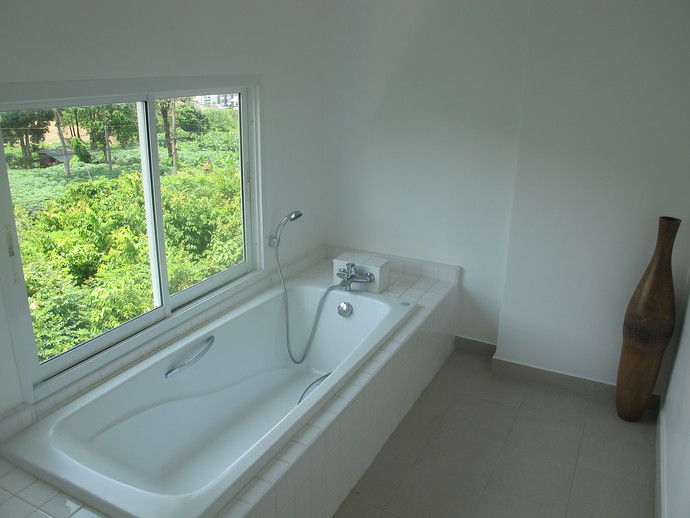 En Suite Bathroom enjoys a bathtub and shower
