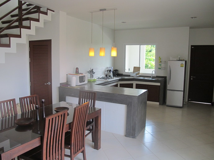 Sea Life Open Plan Dining and Kitchen Area