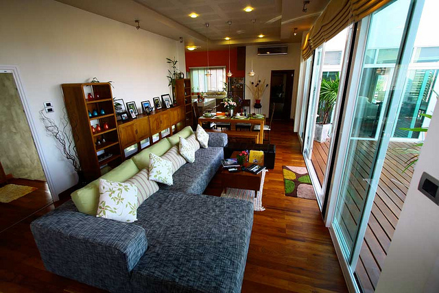 The Levels Lanta Living Area