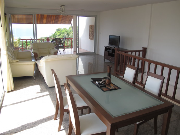 two bedroom Twin House Living Area kantiang bay