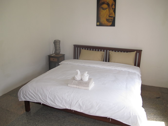 Second Bedroom in the two bedroom twin house kantiang bay