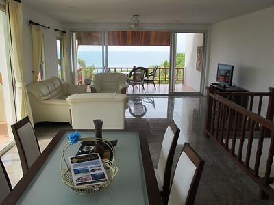 Twin House Villa Lounge and Dining Area Kantiang Bay, Ko Lanta