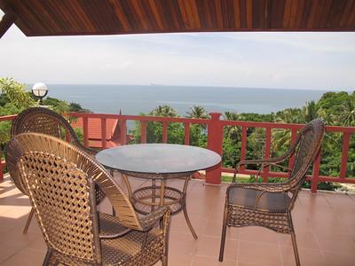 Twin House Villa Terrace Kantiang Bay, Ko Lanta