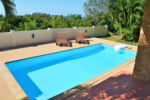 Villa Anakira swimming pool