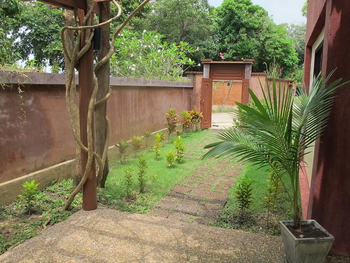Entrance to Villa Itam