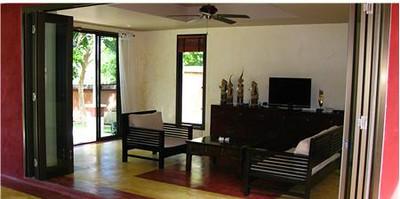 Large comfortable lounge area