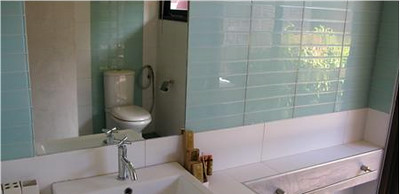 The second en suite bathroom with a shower