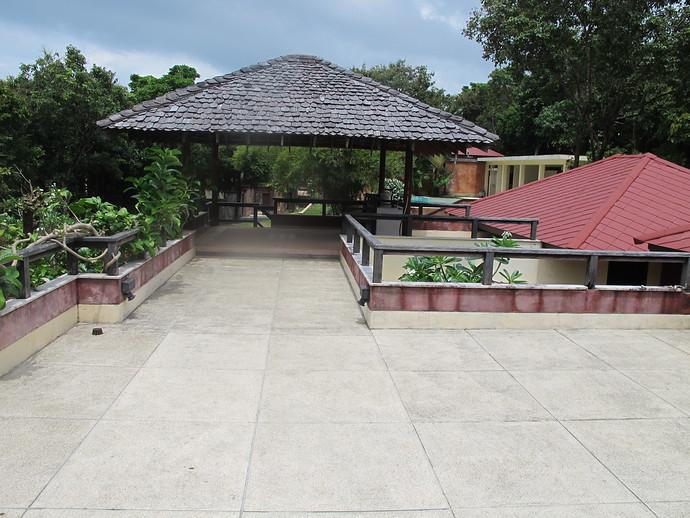 The Roof Top Terrace at Villa Itam