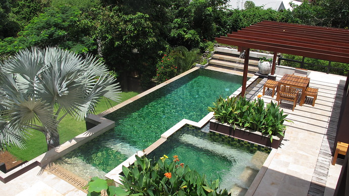 Villa Kuning Pool and Jacuzzi