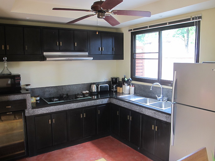 Villa Kuning Fully Equipped Kitchen