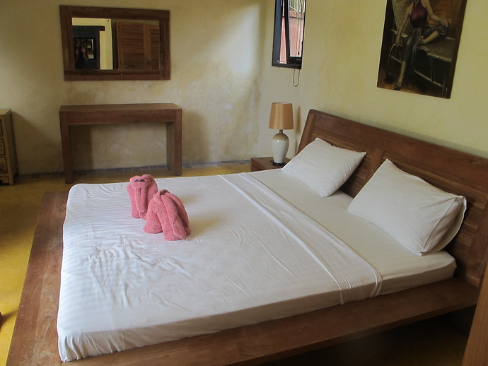 Villa Kuning Garden Bedroom