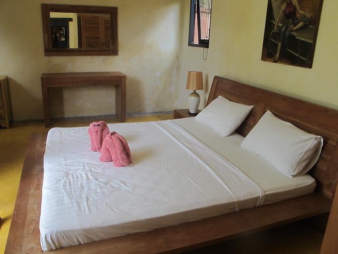 Villa Kuning Garden Bedroom
