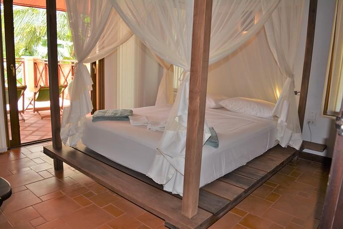 Villa Lipana bedroom with outside terrace