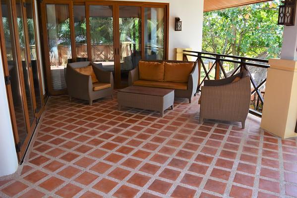 Villa Lipana Outside terrace