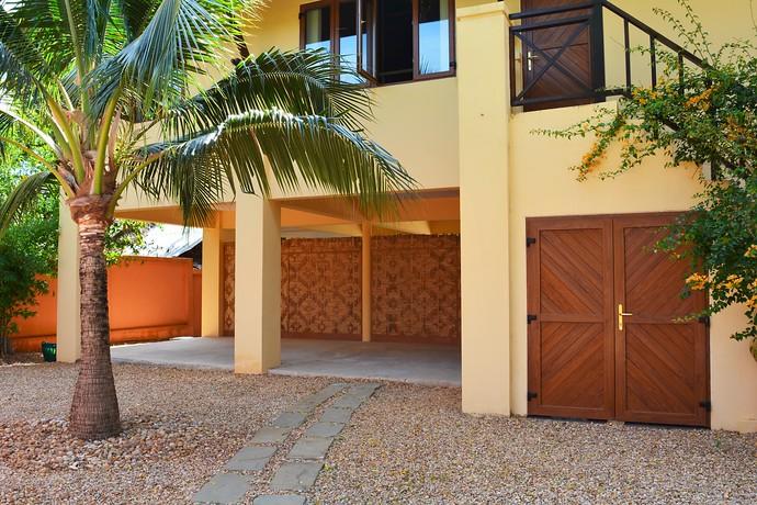 Villa Lipana parking space under home
