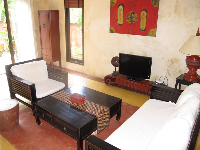 Living Area in Villa Meray