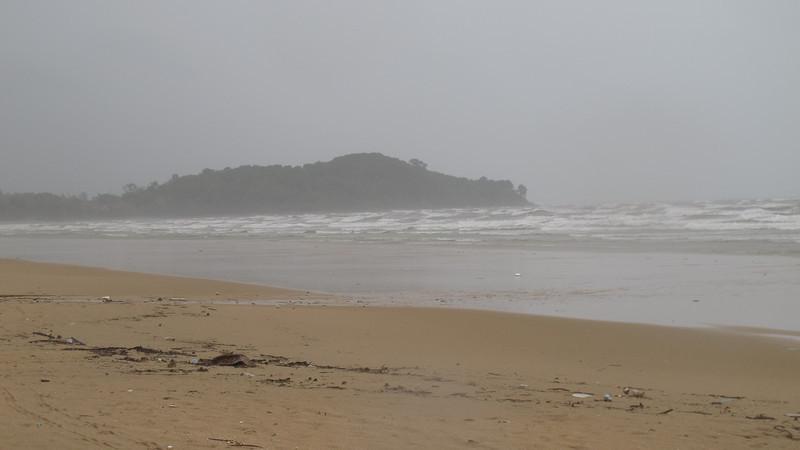 Khlong Dao  Beach Storm September 2012