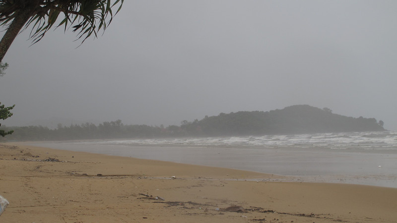 Khlong Dao Beach Storm September 2012