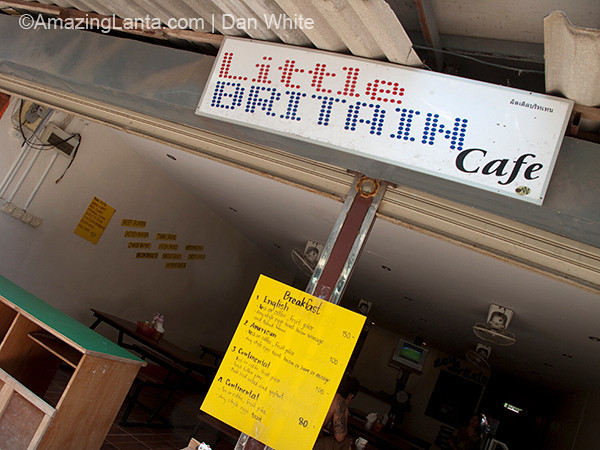 Little Britain Restaurant, Tonsai, Koh Phi Phi, Thailand
