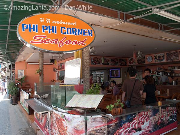 Phi Phi Corner Restaurant. Koh Phi Phi. Thailand.