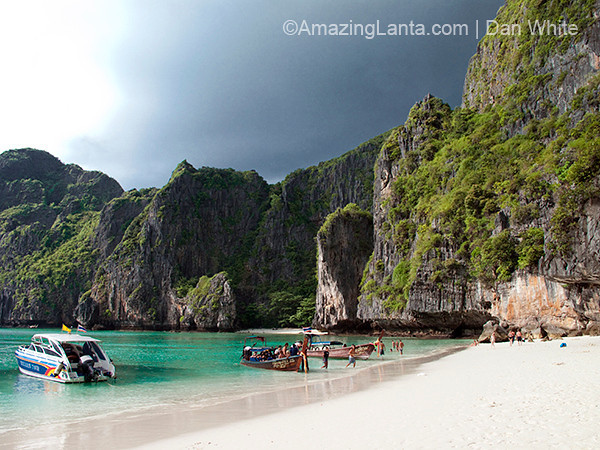 Maya. Bay. Koh Phi Phi. Thailand.