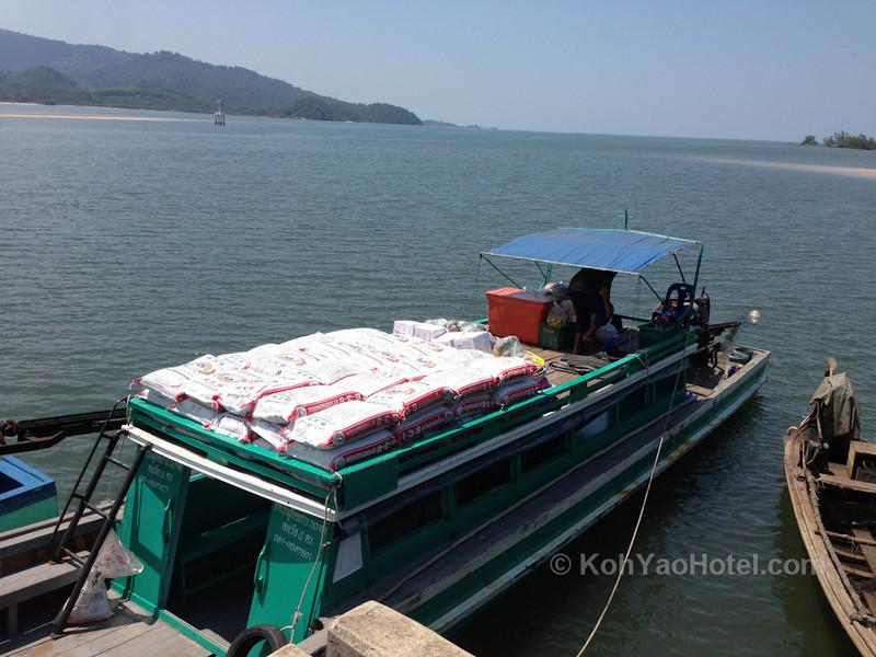 thalane pier krabi where you catch the boat to Koh Yao Noi