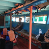 inside the Koh yao noi longtail boat ferry which take you to  Tha Khao Pier on Koh Yao Noi
