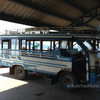 when you arrive on Talane pier in Krabi a local bus will take you in to Krabi