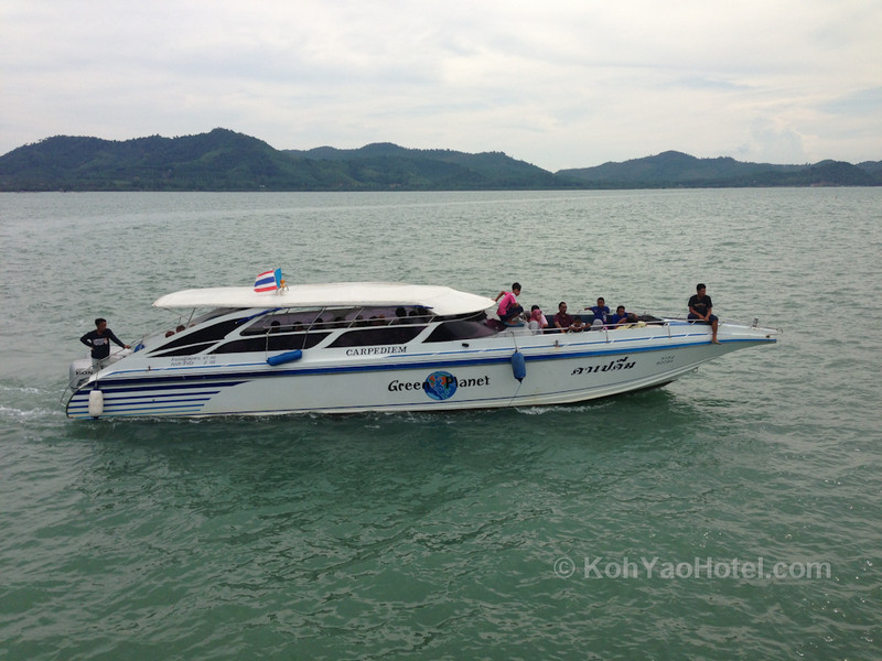 speed boat from koh yao noi to ao nang krabi