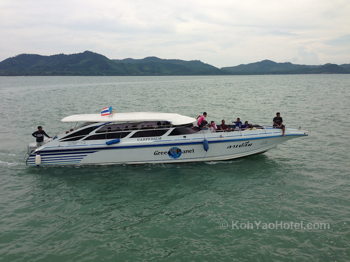 Speedboat from Ao Nang to Koh Yao Yai