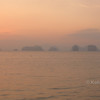 watching the sunrise from tha khao pier koh yoa noi