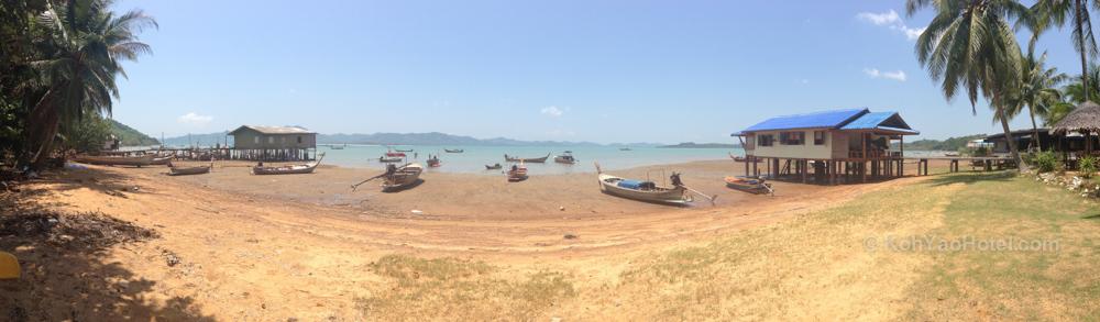 Lam Sai beach panorama