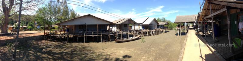 village next to tha thondo pier koh yao noi