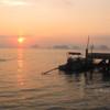 watching the sunrise from tha khao pier koh yoa noi