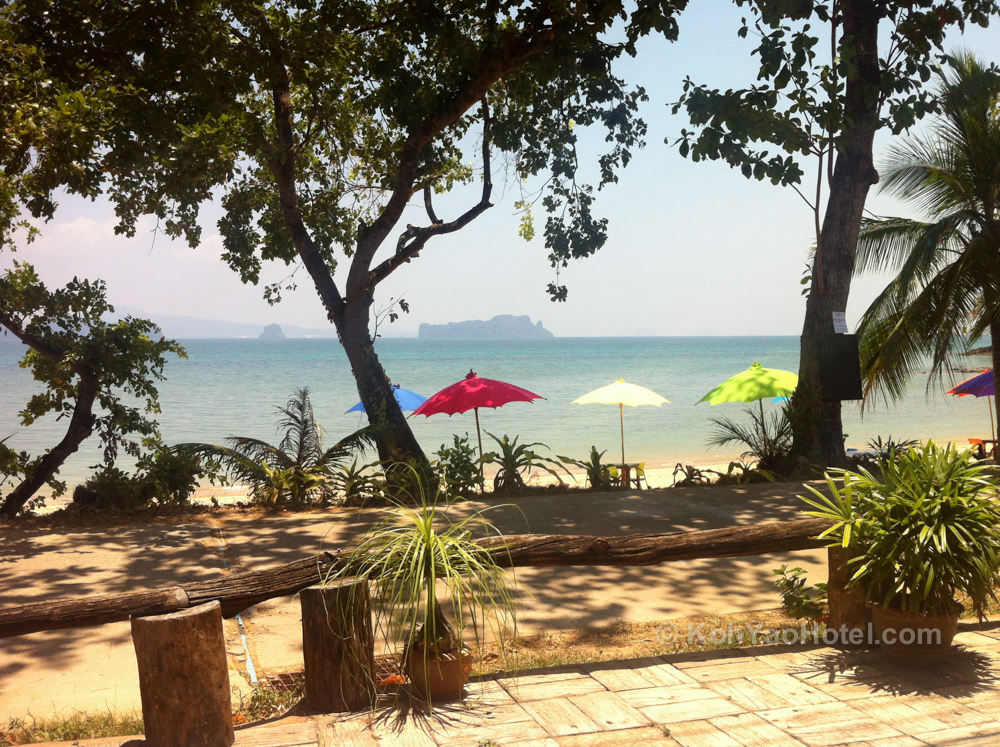 View from Villaguna Restaurant, Klong Jark Beach, Koh Yao Noi